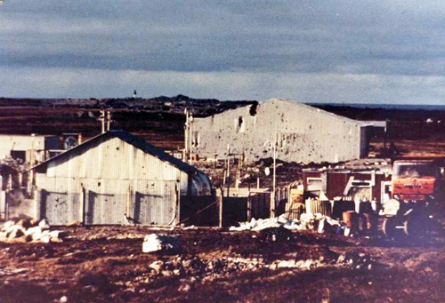 43 Hangar donde se alojaron miembros del GOE.