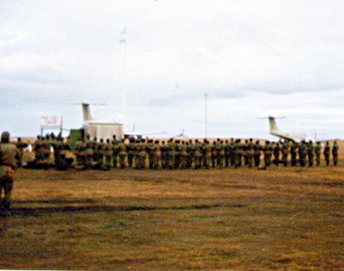 51 Formaciòn en Grosse Gren 1982