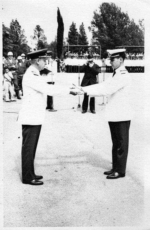 6 EGRESO COMO ALFEREZ DE LA FAA- AÑO 1972