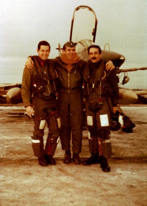 Mir 7 Primer Teniente Jorge RATTI,Vcom Daniel OTERO y Mayor Horacio MIR GONZALEZ